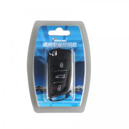 XHORSE VVDI2 DS Type Wireless Universal Remote Key 3 Buttons (Individually Packaged)