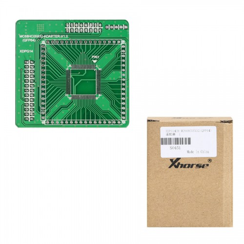Xhorse VVDI PROG MC68HC05X32(QFP64) Adapter Free Shipping [Support Ship From US]
