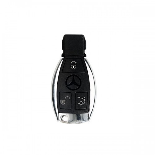 Best Quality Benz Smart Key Shell 3-button with Single Battery 5pcs/lot