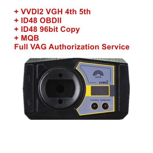 Xhorse VVDI2 VW 4th 5th+ ID48 OBDII +ID48 96bit Copy Full V-A-G Authorization Service