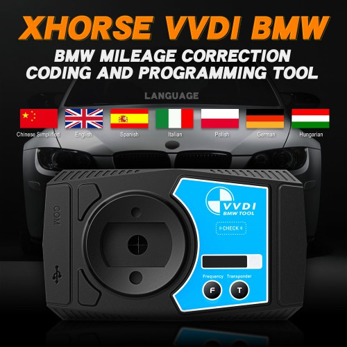 In Stock V1.5.0 Xhorse VVDI BMW Tool Coding and Programming Tool DHL Free