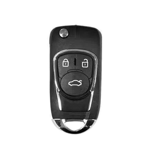 Xhorse Wireless Universal Remote Key Fob 3 Buttons XNBU03EN for Buick Style 5pcs