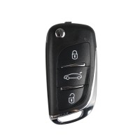 XHORSE VVDI2 Volkswagen DS Type Universal Remote Key 3 Buttons (Independent packing)