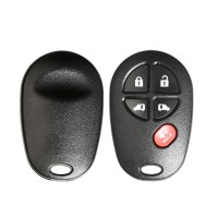 Xhorse Wire Universal Remote Key 5 Buttons XKTO08EN for Toyota Style 5pcs/lot