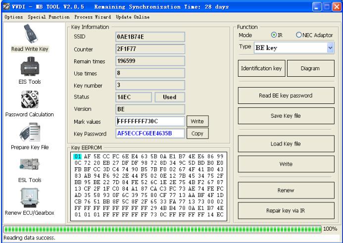 [Aug Sale] V4 9 0 Xhorse VVDI MB BGA Tool Benz Key Programmer Including BGA  Calculator Function Newly Add W230 W251 DHL Free