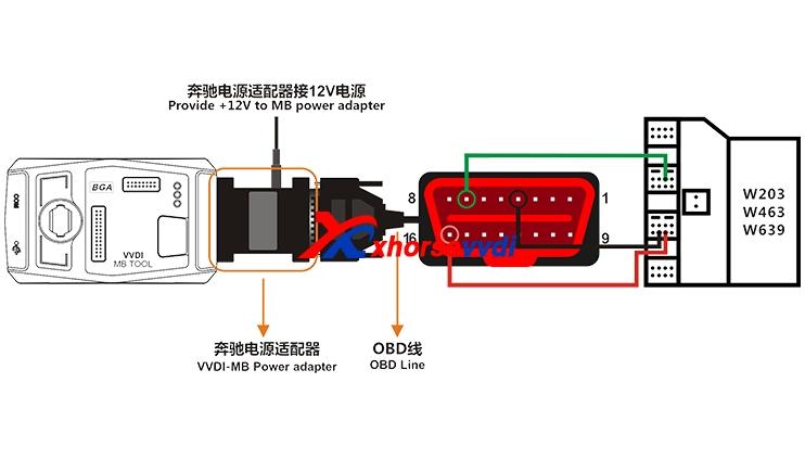 vvdi mb tool power adapter
