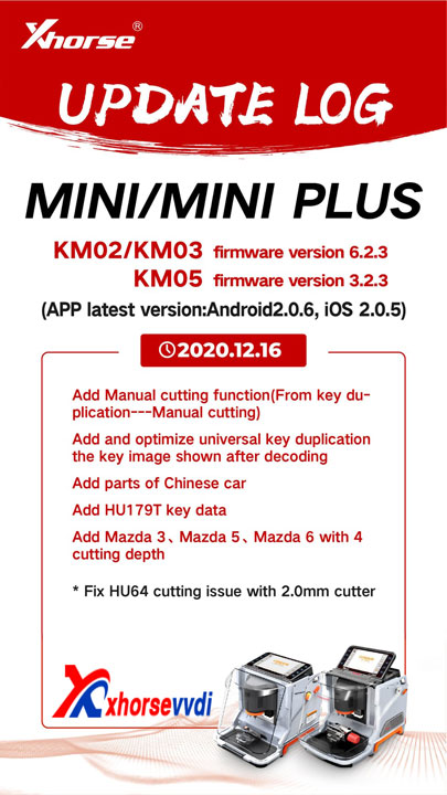 mini  mini plus update