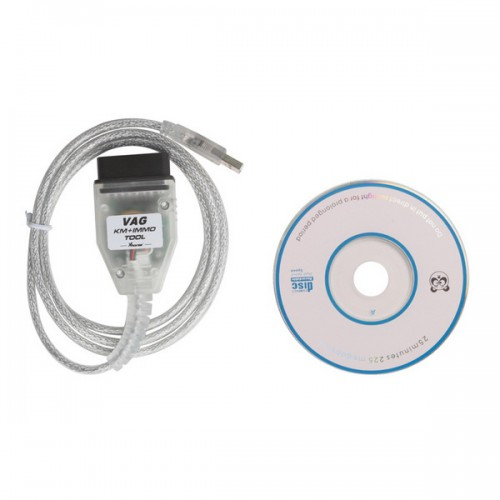 V1.8.2 Super V-A-G KM+IMMO Tool by OBD2 For VW/Skoda Free Shipping