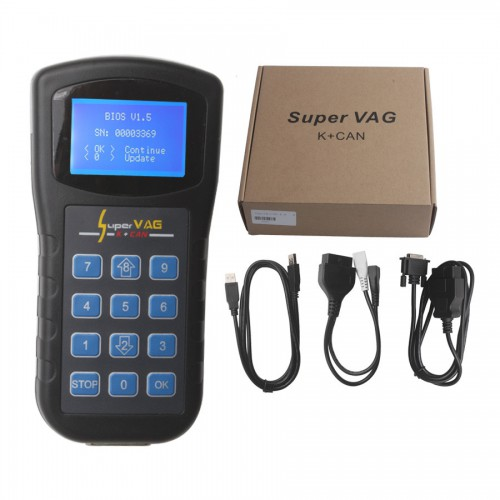 Original Xhorse Super V-A-G K+CAN V4.6 Diagnostic and Odometer Tool Free Shipping