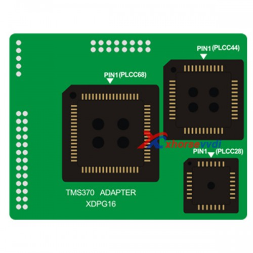 VVDI Prog TMS370 (PLCC28) Adapter [Support Ship From US]