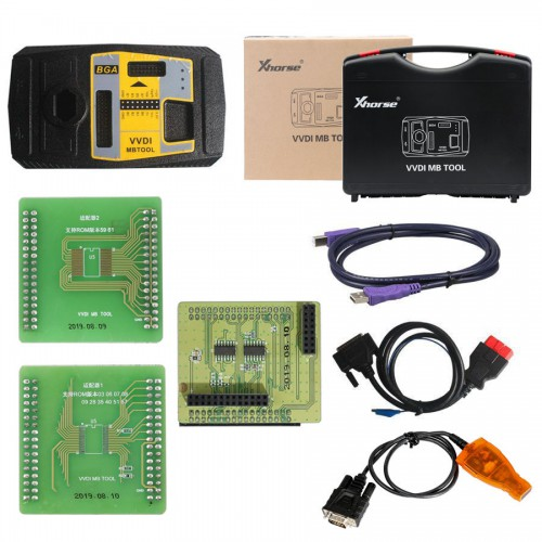 [RU Ship] VVDI2 Full Authorization 13 Software Activarte+VVDI MB Tool Bundle Package Free With MINI Key Tool