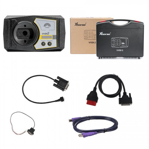 V6.8.2 VVDI2 Full 13 Software Activated Plus Xhorse Toyota 8A Adapter Bundle Package