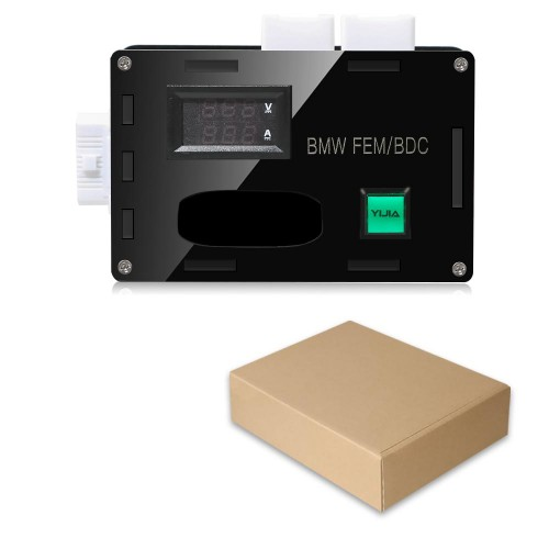 New BMW FEM/BDC Simulator BMW Box Supports ABS and Gearbox New and Improved Version work with VVDI2