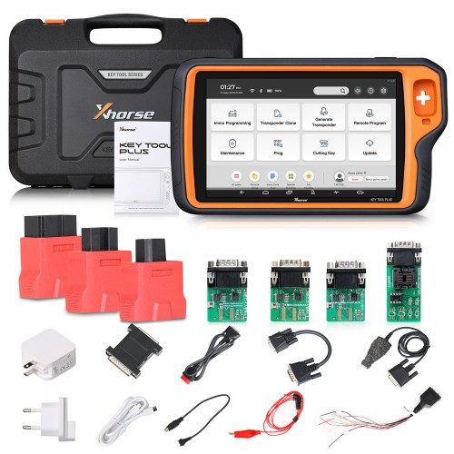 Xhorse VVDI Key Tool Plus and Solder-free Adapters Full Set