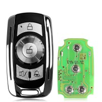 Xhorse Garage Remote Key 4 Buttons XKGD10EN 5pcs/lot