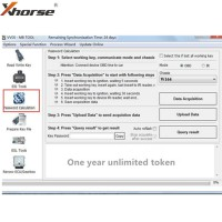 One Year Unlimited Tokens for VVDI MB BGA Tool Online Password Calculation