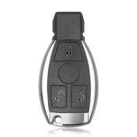 Smart Key Shell 3 Button for Mercedes Benz Assembling with VVDI BE Key Perfectly