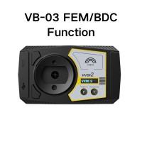VVDI2 BMW FEM/BDC Function Authorization Service For Condor Cutter Only