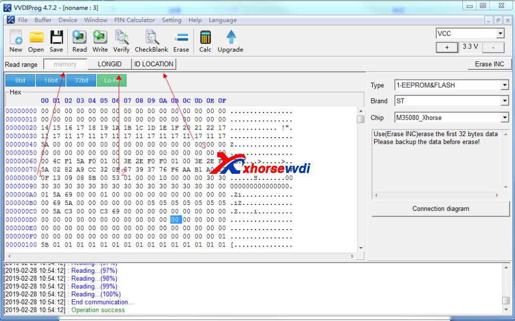 how to use vvdi prog 35160dw chip