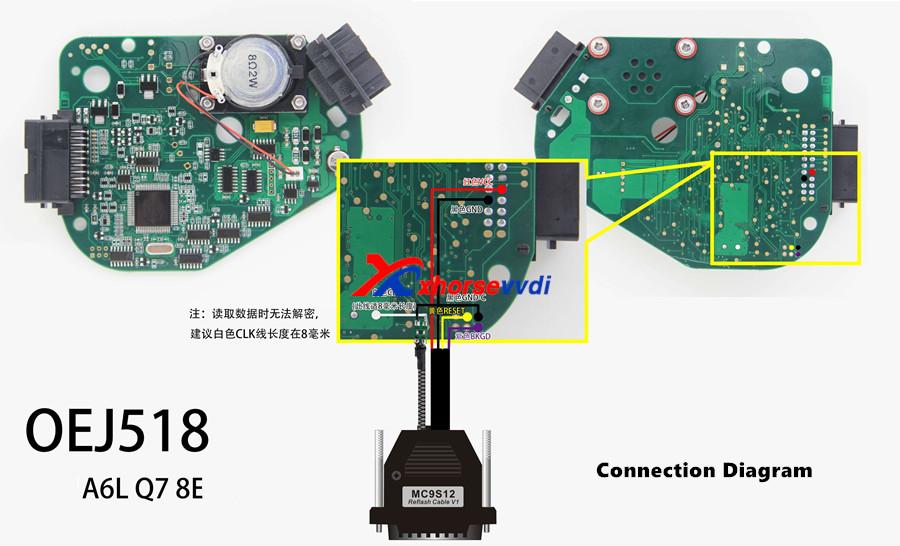 j518 connection diagram