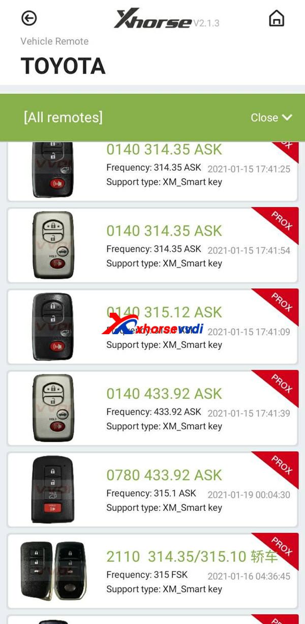 xm smart proxy