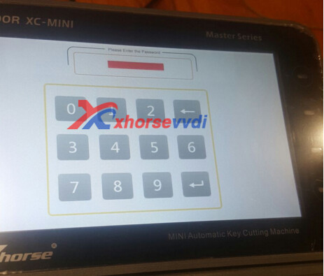 condor-xc-mini-password